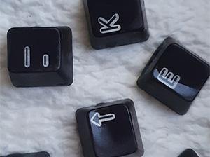 Dyed Keycaps
