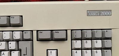Amiga 2000 Keyboard