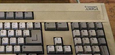 Amiga 3000 keyboard