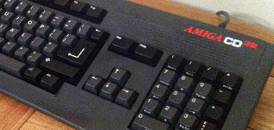 Amiga CD32 keyboard